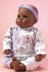 Little Keyden is a 17 inch vinyl play doll from Lee Middleton